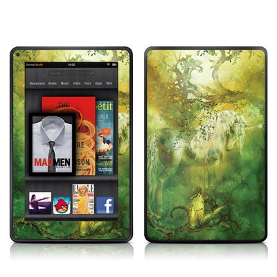 Kindle Fire Skin - Unicorn