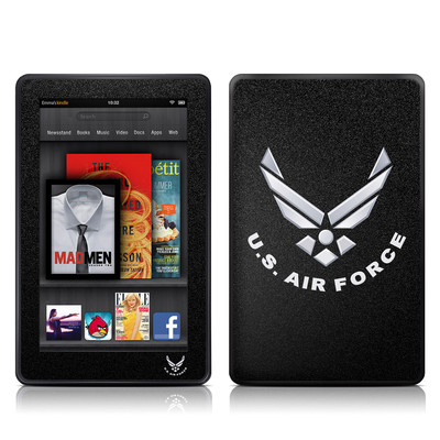 Kindle Fire Skin - USAF Black