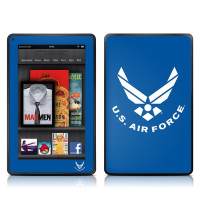 Kindle Fire Skin - USAF Blue