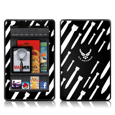 Kindle Fire Skin - Bombs Away