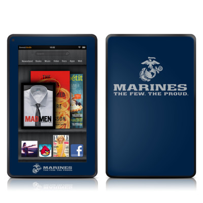 Kindle Fire Skin - USMC Blue