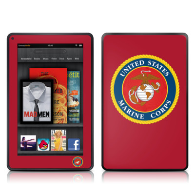 Kindle Fire Skin - USMC Red