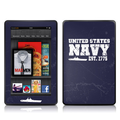 Kindle Fire Skin - USN 1775
