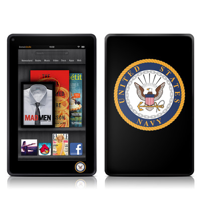 Kindle Fire Skin - USN Emblem