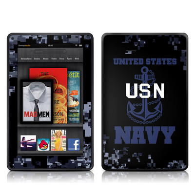 Kindle Fire Skin - USN
