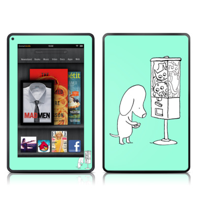 Kindle Fire Skin - Vending