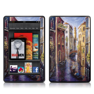 Kindle Fire Skin - Venezia
