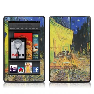 Kindle Fire Skin - Cafe Terrace At Night