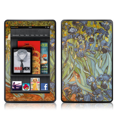 Kindle Fire Skin - Irises