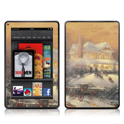Kindle Fire Skin - Victorian Christmas