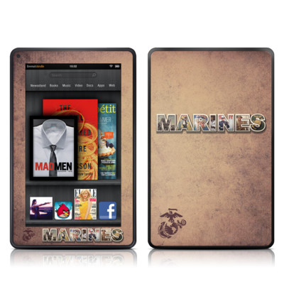 Kindle Fire Skin - Vintage Poster