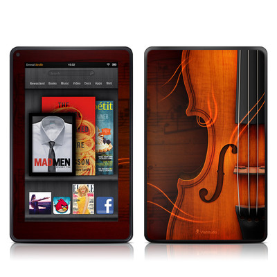 Kindle Fire Skin - Violin