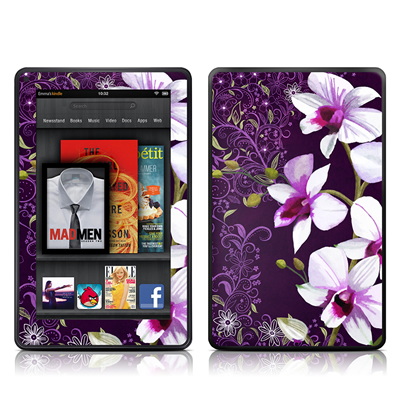 Kindle Fire Skin - Violet Worlds