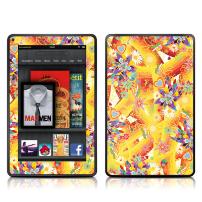 Kindle Fire Skin - Wall Flower