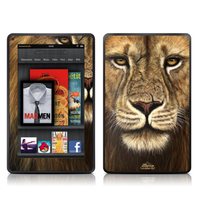 Kindle Fire Skin - Warrior