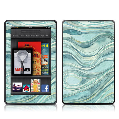 Kindle Fire Skin - Waves