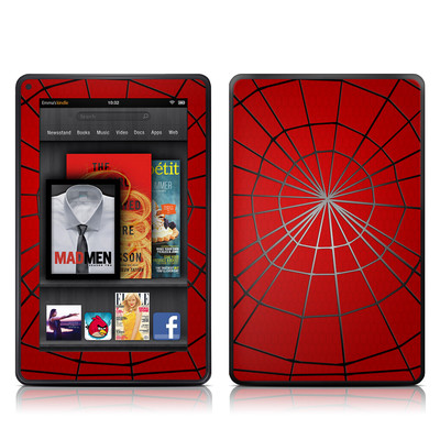 Kindle Fire Skin - Webslinger