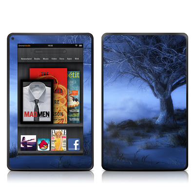 Kindle Fire Skin - World's Edge Winter