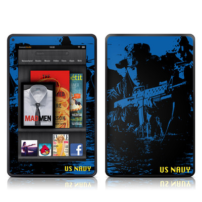 Kindle Fire Skin - Water Heist
