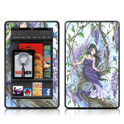 Kindle Fire Skin - Wisteria