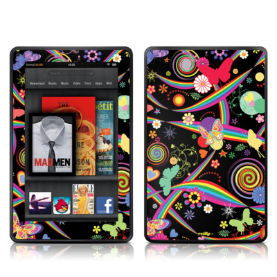 Kindle Fire Skin - Wonderland