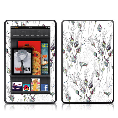 Kindle Fire Skin - Wildflowers