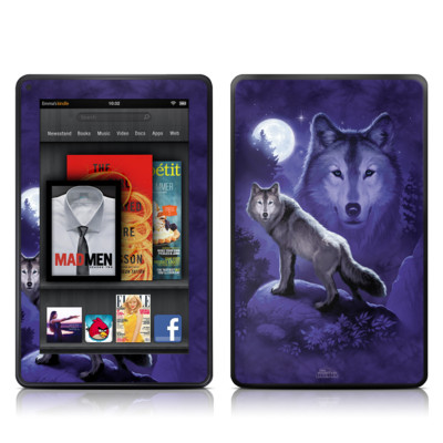 Kindle Fire Skin - Wolf