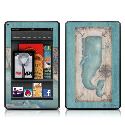 Kindle Fire Skin - Whale Watch
