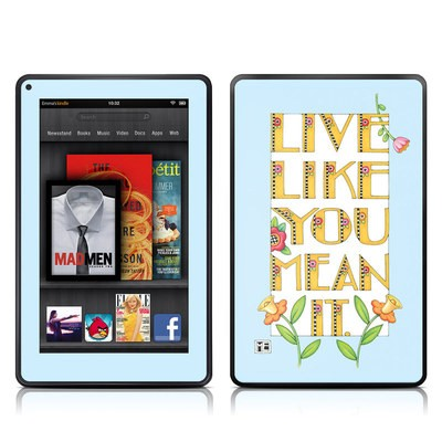 Kindle Fire Skin - Mean It