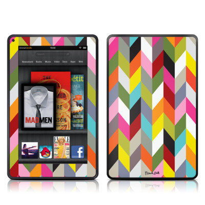 Kindle Fire Skin - Ziggy Condensed