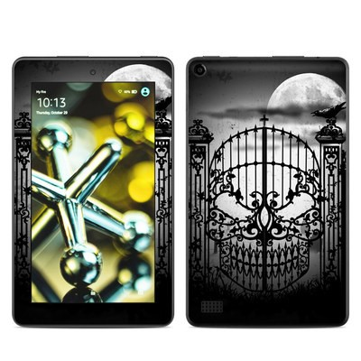 Amazon Kindle Fire 5th Gen Skin - Abandon Hope