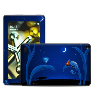 Amazon Kindle Fire 5th Gen Skin - Alien and Chameleon