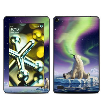 Amazon Kindle Fire 5th Gen Skin - Arctic Kiss