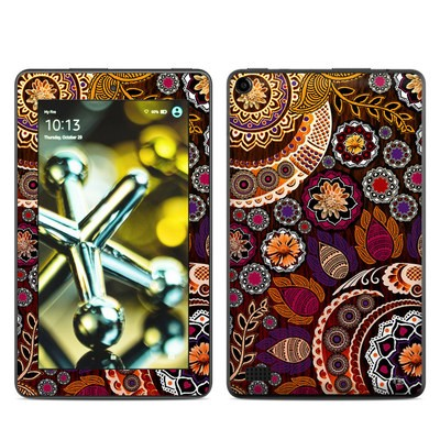 Amazon Kindle Fire 5th Gen Skin - Autumn Mehndi