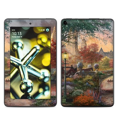 Amazon Kindle Fire 5th Gen Skin - Autumn in New York