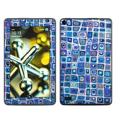 Amazon Kindle Fire 5th Gen Skin - Blue Monday