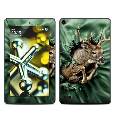 Amazon Kindle Fire 5th Gen Skin - Break Through Deer