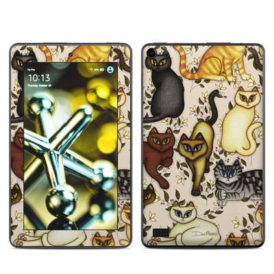 Amazon Kindle Fire 5th Gen Skin - Cats