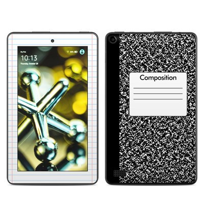 Amazon Kindle Fire 5th Gen Skin - Composition Notebook