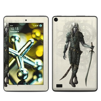 Amazon Kindle Fire 5th Gen Skin - Dark Elf