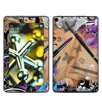 Amazon Kindle Fire 5th Gen Skin - Dream Flowers