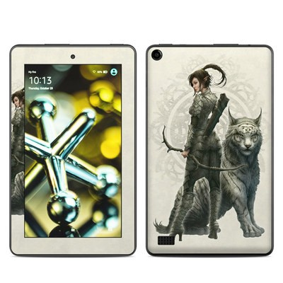 Amazon Kindle Fire 5th Gen Skin - Half Elf Girl