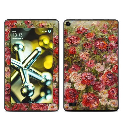 Amazon Kindle Fire 5th Gen Skin - Fleurs Sauvages