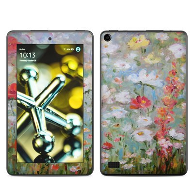 Amazon Kindle Fire 5th Gen Skin - Flower Blooms