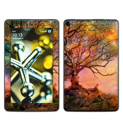 Amazon Kindle Fire 5th Gen Skin - Fox Sunset