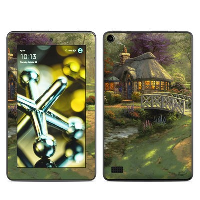 Amazon Kindle Fire 5th Gen Skin - Friendship Cottage