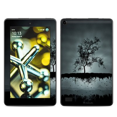 Amazon Kindle Fire 5th Gen Skin - Flying Tree Black