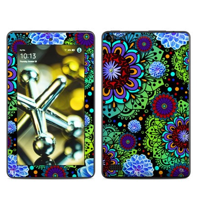 Amazon Kindle Fire 5th Gen Skin - Funky Floratopia