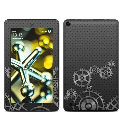Amazon Kindle Fire 5th Gen Skin - Gear Wheel