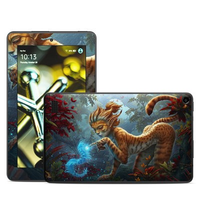 Amazon Kindle Fire 5th Gen Skin - Ghost Centipede